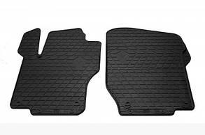 Передние автомобильные резиновые коврики Mercedes Benz GL-X164 2005- (1012382)