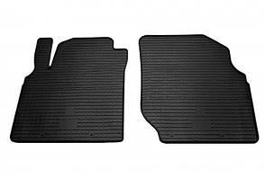 Передние автомобильные резиновые коврики Nissan Almera N16 2000- (1014052)