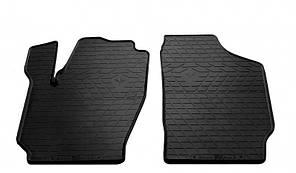 Передние автомобильные резиновые коврики Skoda Fabia I 2000- (1020152)