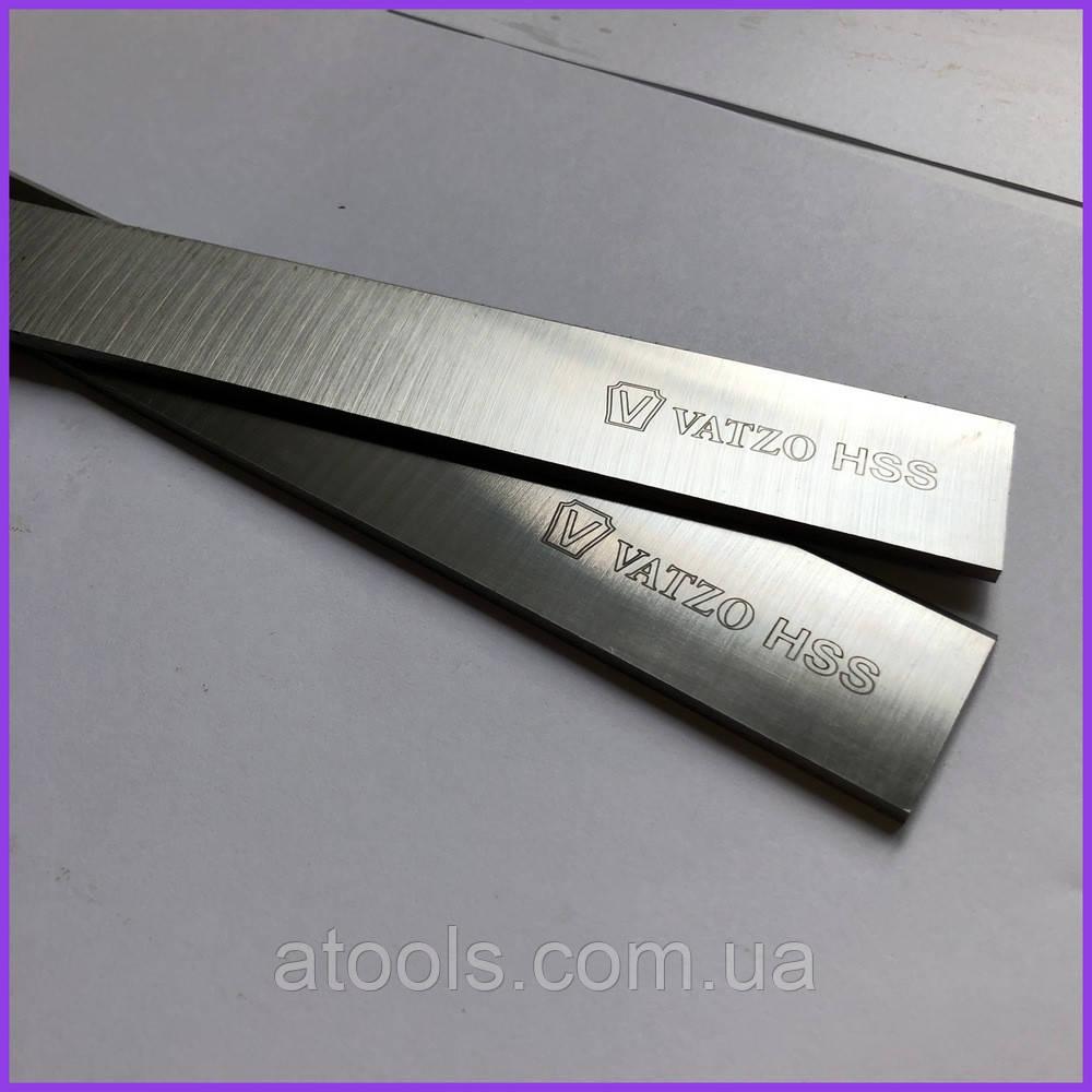 Нож фуговальный (строгальный) 400x30x3мм HSS 18% W