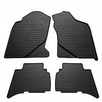 Комплект резиновых ковриков в салон автомобиля Great Wall Hover 2005- (1051024)