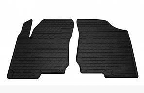 Передние автомобильные резиновые коврики Hyundai I 30 2006-2012 (design 2016) (1009262)