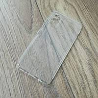 Силиконовый чехол KST для Samsung Galaxy A41 (a415) с защитой от пыли и ударов. Прозрачный, фото 1