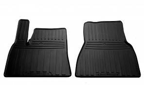 Передние автомобильные резиновые коврики Tesla Model S 2012- (1050012)