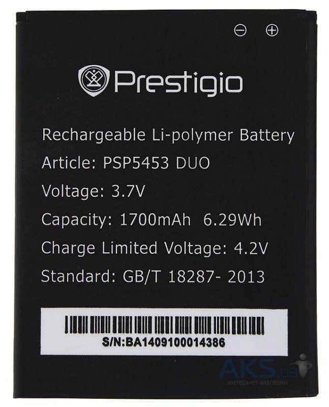 Аккумулятор Prestigio MultiPhone 5453 Duo / PAP5453 DUO (1700 mAh)