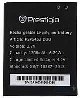 Акумулятор Prestigio MultiPhone 5453 Duo / PAP5453 DUO (1700 mAh), фото 1
