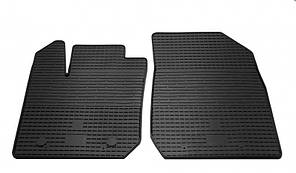 Передние автомобильные резиновые коврики Dacia Logan 2 2013- (1004022)
