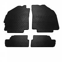 Комплект резиновых ковриков в салон автомобиля Daewoo Matiz M300 2009- (1005044)