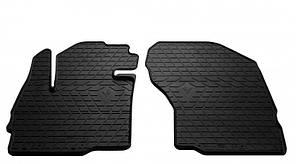 Передние автомобильные резиновые коврики Mitsubishi Eclipse Cross 2015- (1013162)