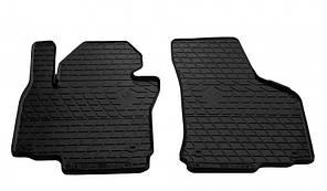Передние автомобильные резиновые коврики Skoda Octavia II 2004- (1020142)