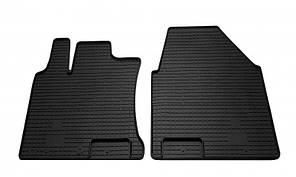 Передние автомобильные резиновые коврики Nissan Qashqai +2 2007- (1014042)