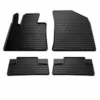 Комплект резиновых ковриков в салон автомобиля Peugeot 508 2010- (1016074)