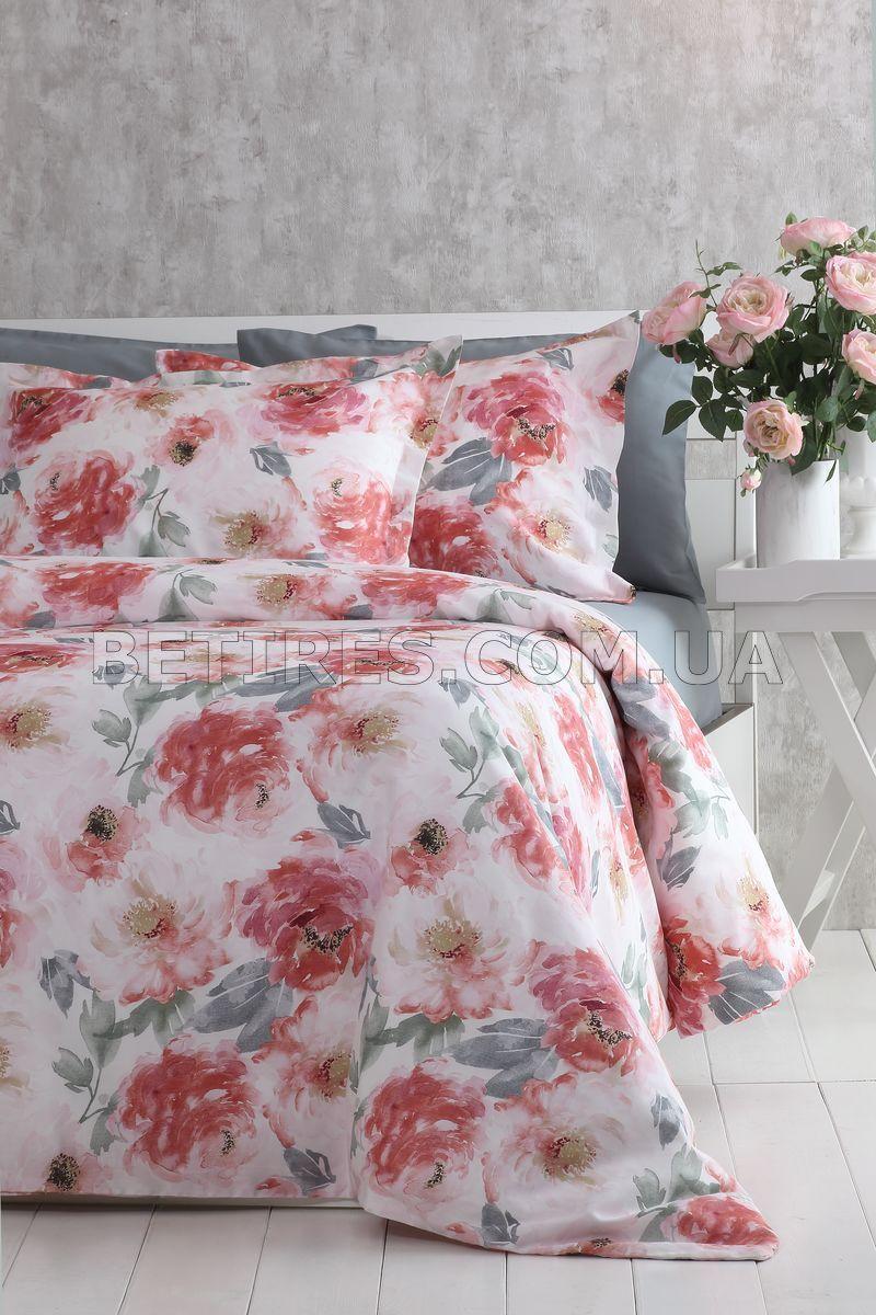 Комплект постельного белья СЕМЕЙНЫЙ PAVIA ROSETTA розовый