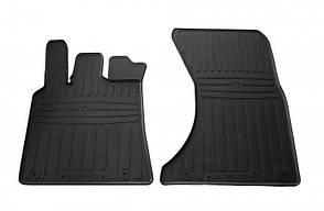 Передние автомобильные резиновые коврики Porsche Macan 2014- (1052022)