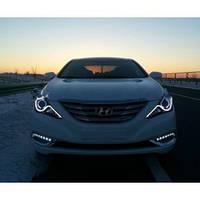 Штатные дневные ходовые огни (DRL) для Hyundai Sonata YF T1