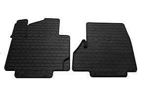 Комплект резиновых ковриков в салон автомобиля Nissan NV200 2014- (1014272)