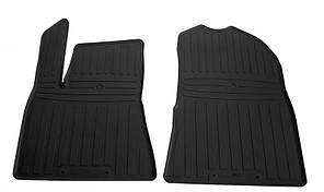 Передние автомобильные резиновые коврики Tesla Model 3 2017- (1050032)