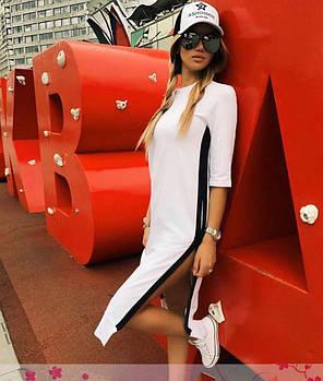 Сукня спортивне вільний з смугою на блискавці, фото 2