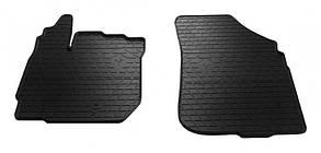 Передние автомобильные резиновые коврики Dacia Duster 2015-2018 (1004042)