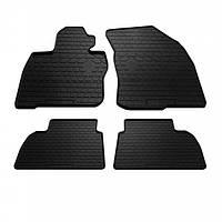 Комплект резиновых ковриков в салон автомобиля Honda Civic hatchback 2006- (1008114)
