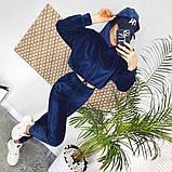 Велюровый костюм двойка топ и штаны, фото 7