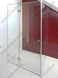 Душевая кабина стеклянная под заказ в Киеве из закаленного прозрачного стекла, фото 3
