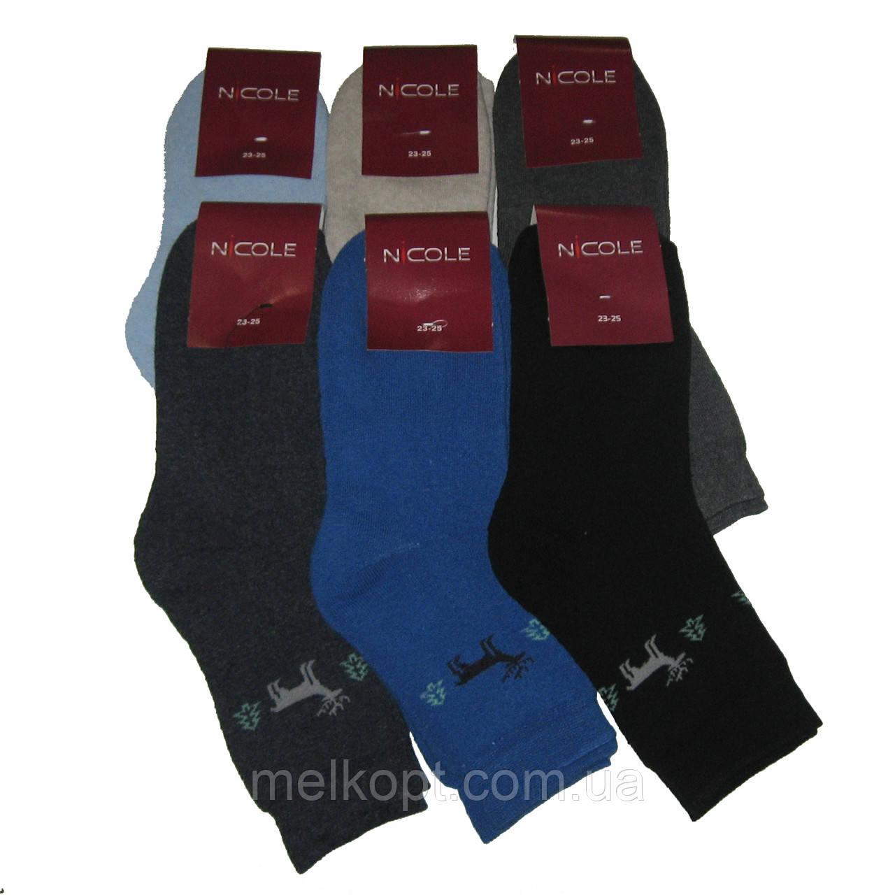 Женские махровые носки Nicole - 12,75 грн./пара (олень)