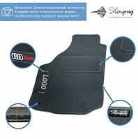 Комплект ворсових килимів Stingray Сіак Grey в салон автомобіля VOLKSWAGEN / SHARAN / 2000- / FL+FR+RU