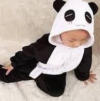 Костюм Кигуруми детский р.100 см. панда