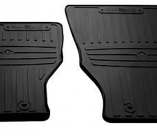 Передние автомобильные резиновые коврики Hummer H3 2005-2010 (1058012)