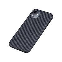 Карбоновый чехол для Apple iPhone 12 / 12 Pro / 12 mini / 12 Pro Max Karbon case iPhone 12, фото 1