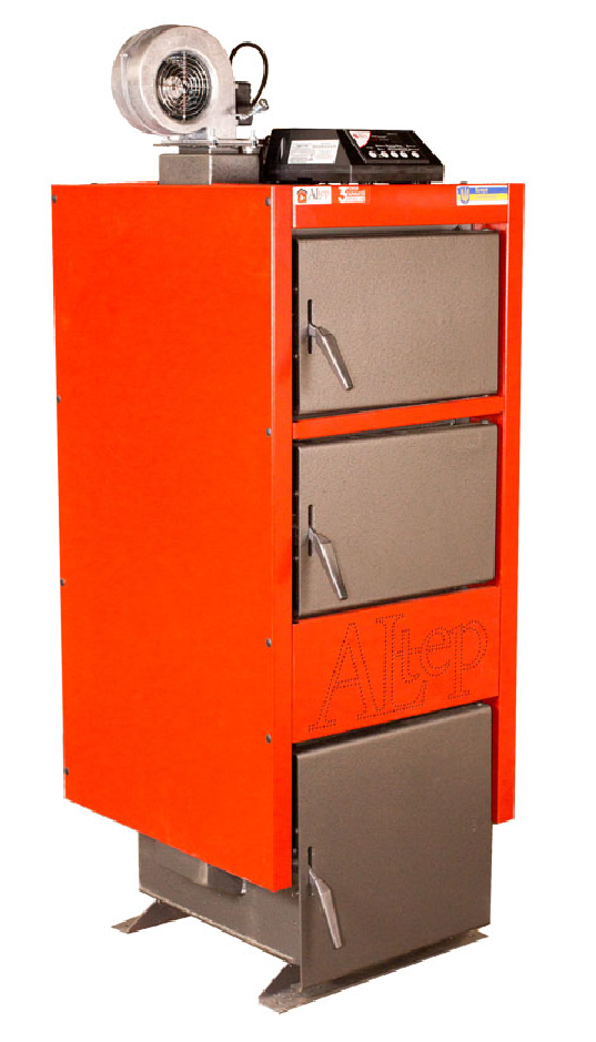 Твердотопливный котел длительного горения Altep KT-1EN 24 (Альтеп на дровах и угле)