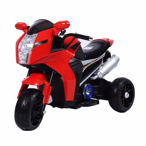 Детский мотоцикл T-7213 EVA RED 6V4.5AH мотор 1*18W Гарантия качества Быстрая доставка