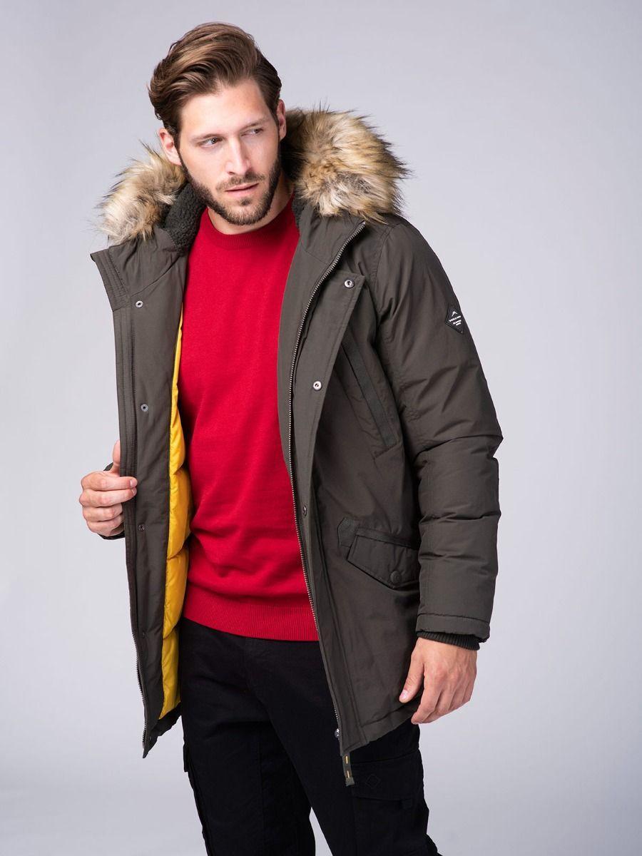 Зимняя мужская куртка парка Volcano J-Sonner M06140-302