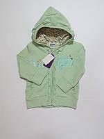 Кофта с капюшоном для девочек Zeplin 80р,86р,92р