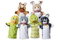 Большой кукольный театр Домашние животные 6 кукол Melissa&Doug (MD9119)