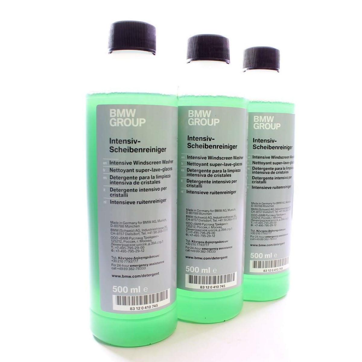 Засіб для інтенсивного очищення скла BMW Screen Wash Intensive Cleaner (83120410745)