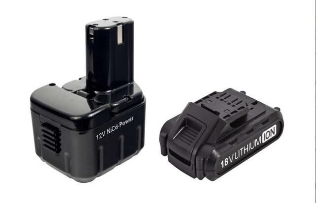 Аккумуляторы для шуруповетров