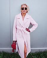 Женское пальто зима пудра M-L
