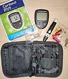 Глюкометр Contour Plus + 100шт тест полосок., фото 6
