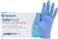 Нитриловые перчатки 3 г/м² ОБЛЕГЧЕННЫЕ (100шт/уп) Медиком SafeTouch® Advanced E-series, фото 1