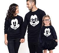 Свитшоты family look. Толстовки для всей семьи. Микки Маус.