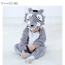 Пижама кигуруми детская р. 110 см серый волк