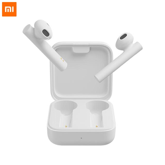 TWS наушники | Полностью беспроводные bluetooth Xiaomi Mi True Wireless Earphones 2 Basic White Оригинал! Вкладыши Bluetooth