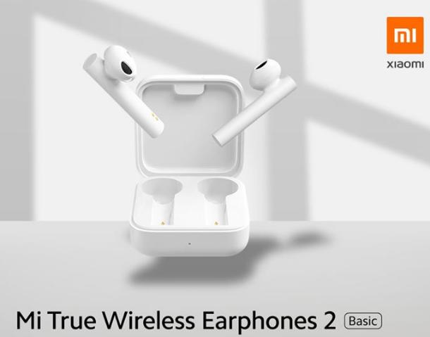Гарнитура bluetooth Xiaomi Mi True Wireless Earphones 2 Basic White Оригинал! Вкладыши Bluetooth Белый Силикон