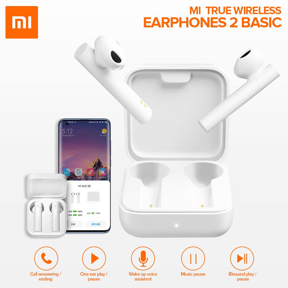 Гарнитура bluetooth Xiaomi Mi True Wireless Earphones 2 Basic White Оригинал! Вкладыши Bluetooth Белый