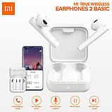 Гарнитура bluetooth Xiaomi Mi True Wireless Earphones 2 Basic White (BHR4089GL) Оригинал!, фото 2