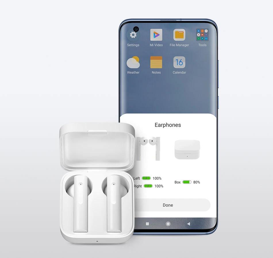 Гарнитура bluetooth Xiaomi Mi True Wireless Earphones 2 Basic White (BHR4089GL) Оригинал!