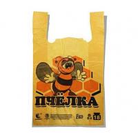 Пакет майка 29х47 (16кг) Пчёлка 250шт