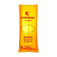 Пакет фасовка 10х27 Comserv ЭКО, желтый
